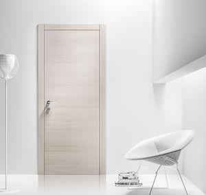 Tür für Innenbereich / einflügelig / Laminat