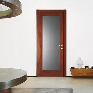 Tür für Innenbereich / einflügelig / Massivholz / ABS
