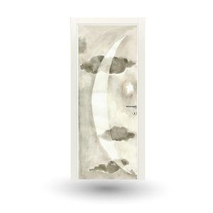 Tür für Innenbereich / einflügelig / Holz / lackiert