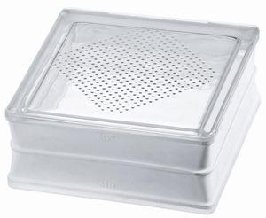 Glas-Pflasterstein / beleuchtet / Hochleistung und Schwerlast