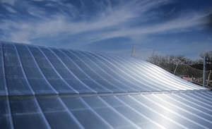 Polycarbonat-Platte / für Dächer