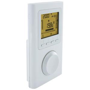 elektronisches Thermostat / für Heizungen / mit Digitalanzeige / Akku