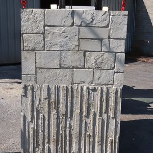 Stahlbeton-Stützmauer / Modulare / Fertigbau / auf bewehrter Erde