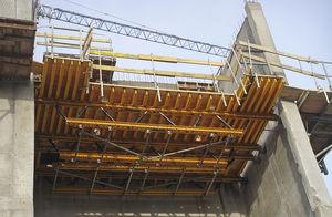 Hebeplattform für Baustellen