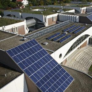 Photovoltaik-Vorhangfassade
