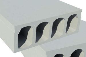 Stahlbetonbodenplatte / mit Wabenstruktur