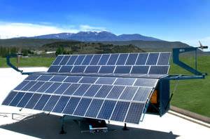 hybrider PV Stromversorgungssystem für Inselanalge