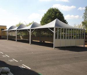 Metallrahmen-Flächentragwerk / Vordach / für Carport / für Schulen