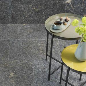 Granitsteinplatte / poliert / gebürstet / sandgestrahlt