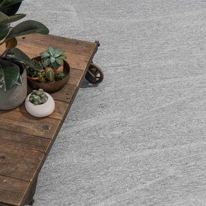 Granitsteinplatte / poliert / gebürstet / scharriert