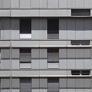 Sandwichplatte für Dächer / für Fassadenverkleidung / Vorderseite aus Zink / PE-Kern