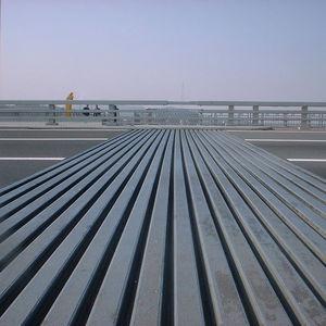 Elastomer-Dehnungsfuge / für Brückenbau / einzellig / modular
