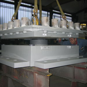 Struktur-Elastomerlager / Elastomer / für horizontale Lasten / für Brückenbau