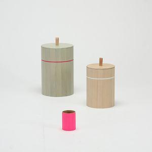 Holz-Papierkorb