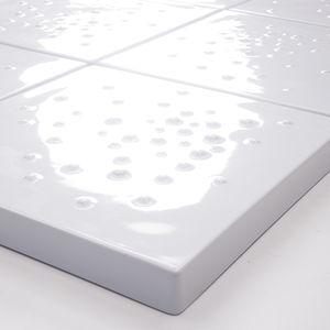 Fliesen für Badezimmer / Boden / Keramik / quadratisch