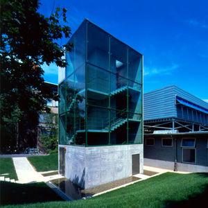Fertigbau-Gebäude / Modul / Stahl / Glas