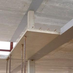 Verlorene Deckenschalung / Beton / Spann