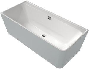 freistehende Badewanne / für Eckeinbau / aus Acryl / doppelt