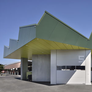 Fassadenverkleidung für hinterlüftete Fassade