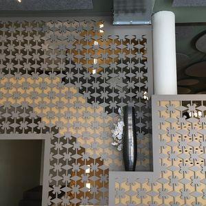 Platten-Geländer / Innenraum / für Hängeboden