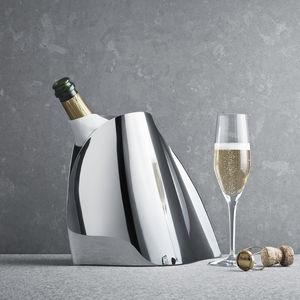 Champagnerkübel / polierter Edelstahl