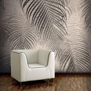 moderne Tapete / Vinyl / Polyester / Blumen