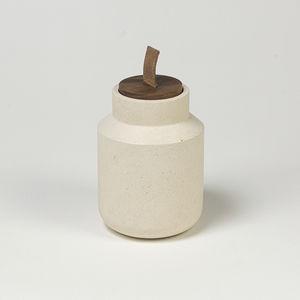 Marmor-Kerzenhalter