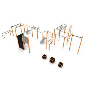 Street Workout Park / für Spielplätze / für öffentliche Bereiche / für sportliche Aktivität / Butterfly