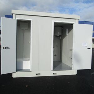 öffentliche Containeranlage / für industrielle Nutzung / für Baustellen / für sanitäre Anlagen