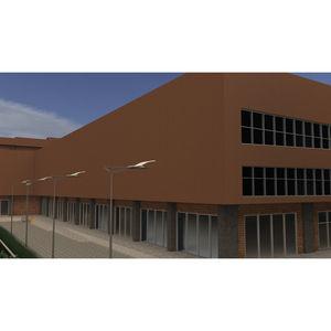 Platten-Fassadenverkleidung / Lamellen / Kassetten / Stahl