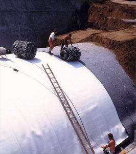 Geokomposit für Drainage / Schutz / zur Filtrierung / Polyester