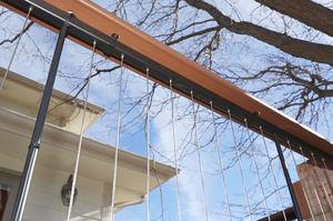 Edelstahlgeländer / Kabel / Außenbereich / für Balkon