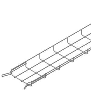 Gitterrinne / hoch widerstandsfähiger Stahl