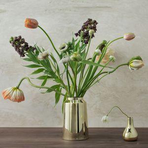 moderne Vase / Messing