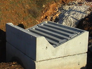 Stahlbeton-Schachtdeckel