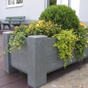 Recyclingkunststoff-Pflanzkübel