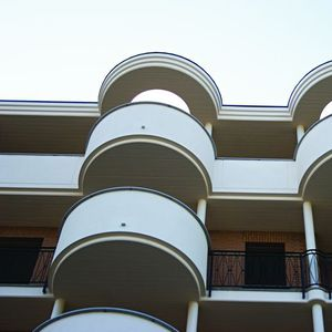 Einhäuptige-Schalung / Polystyrol / für Balkon