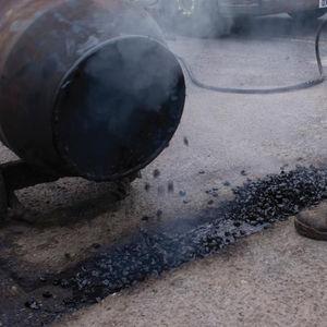 Bitumen-Dehnungsfuge / Verkehrs / befahrbar