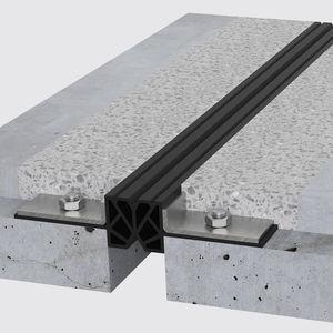 TPE-Dehnungsfuge / Stahl / für Böden / für Parkplätze