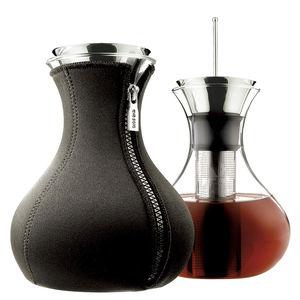 Neopren-Teekanne / Silikon / Edelstahl / aus Borosilikatglas