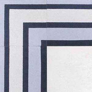 Zementfries / wandmontiert / Boden