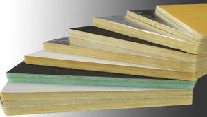 thermo-akustische Isolierung / Glasfaser / Wand / für Böden