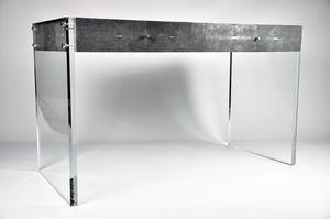Haifischleder-Schreibtisch