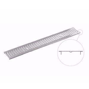 Abflussrinnen-Gitter / verzinkter Stahl