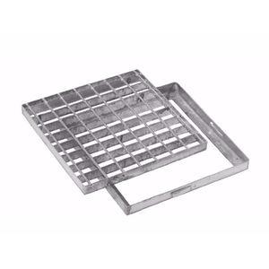 Entwässerungsgitter / verzinkter Stahl / aus elektrogeschweißtem Stahl / für öffentliche Bereiche