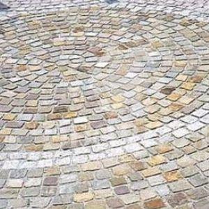 Sandstein Pflasterstein