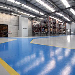 Nachbearbeitungs-Farbe / für Fußböden / für Beton / für Zement