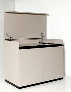 kompakte Kochnische