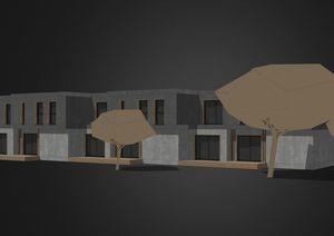 Haus für Öko-Viertel