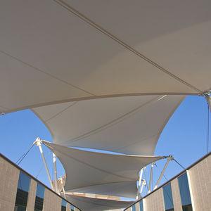 Membran-Architektur / PTFE / für Seiltragwerk / für Fassaden / für öffentliche Bereiche